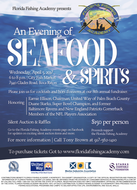 Th Annual Fundraiser  Florida Fishing Academy
