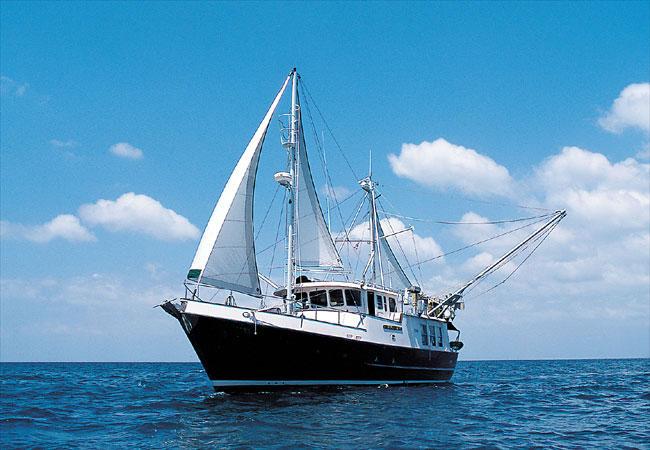 Donated Nordhavn trawler